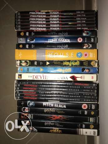 DVD's Selection