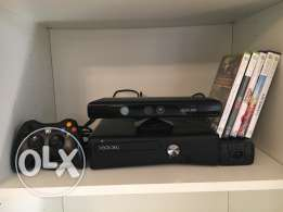 XBOX 360 with Kinect 250GB Original