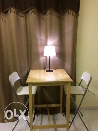 table with two chair for sale
