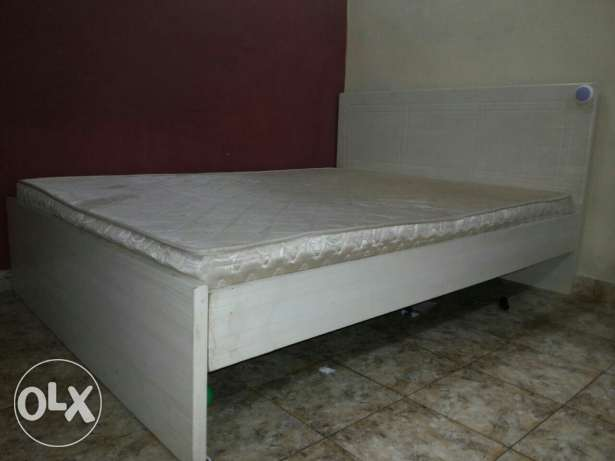 Double bed for immediate sale