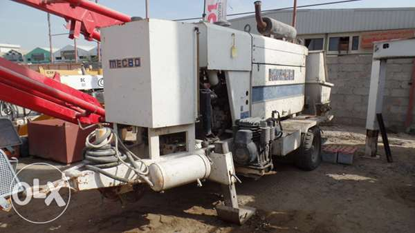 Used MECBO Stationary pump for sale
