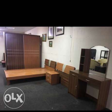selling Single Bedroom set 2 Bed الريان -  1