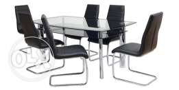 Home Centre 6 Chairs Dining Set