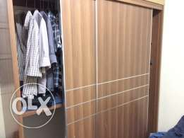 Wardrobe with two sliding doors 500 Qr