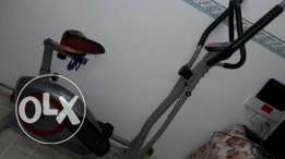 All purpose cross trainer epillitcal bike