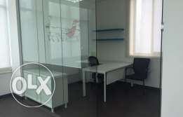 Ground Floor 360 SQM Partitioned Office on C-Ring Road for QR 25,000/-