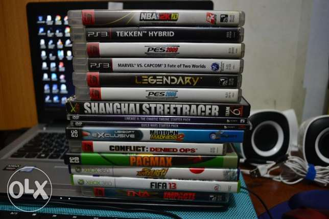 Selling All for 250 QR *laptop in the background is not for sale*