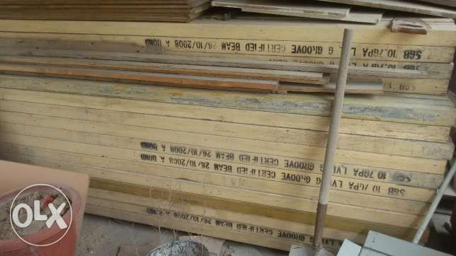 Wooden Planks/Timber/Shuttering Materials
