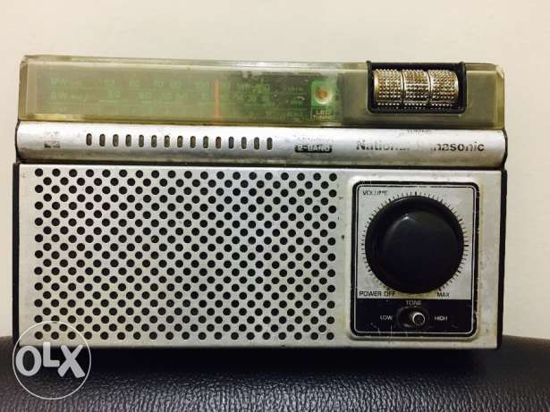 Vintage National Panasonic radio