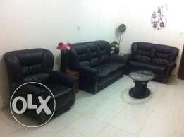 Sofa 3+2+1 with center table