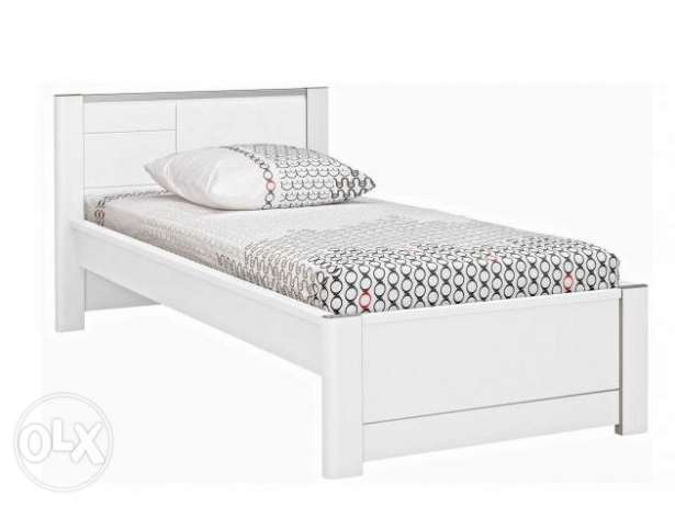 bed 120x200 french manufacture