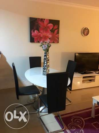 Spacious Studio with balcony furnished! Pearl الؤلؤة -قطر -  5