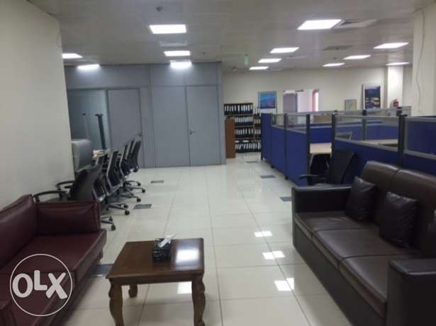 Fully Furnished Office For Rent on C Ring Road