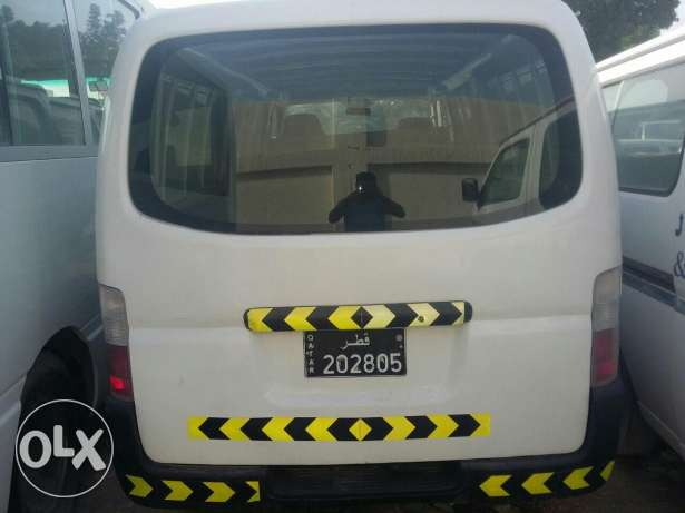 Nissan urvan goods van 2010 a/c powerstering and power window .