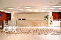 LUXURIOUS and FULLY Furnished Office for RENT in AL SADD