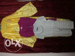Qtr 600 only..Arabic dress + free 2 sweater
