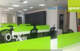 Partitioned 125 SQM office on the C-Ring road at QR 16,000/ Month