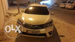 Corolla 2015 full option for urgent sale 23300 km