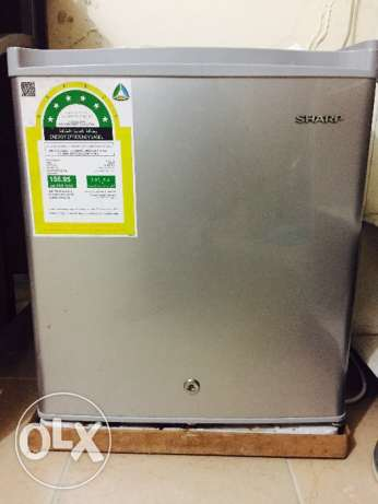 Sharp fridge with warranty card