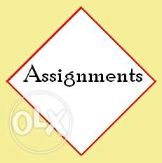 Assignment Writing PHD, MBA and so on.