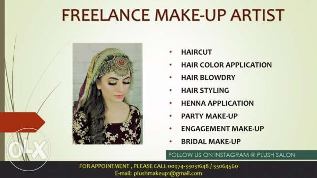Freelance Pakistani Make up Artist