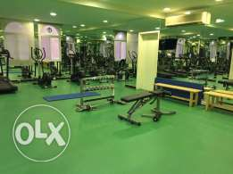 SF 3-BR Apartment in AL Nasr+ Gym