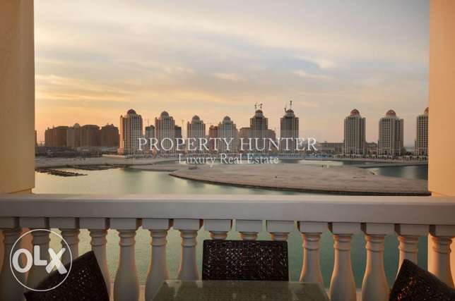 Marina & Sea Views in Furnished 2+Maid Home