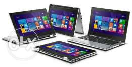 Dell laptop and tablet