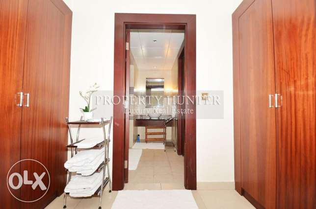 One Bed Residence with Complete Furnitures الؤلؤة -قطر -  2