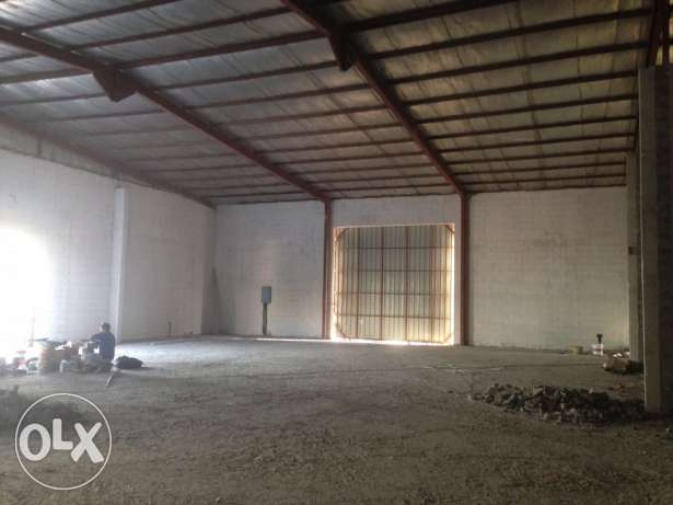2400 sqm store for rent industrial area