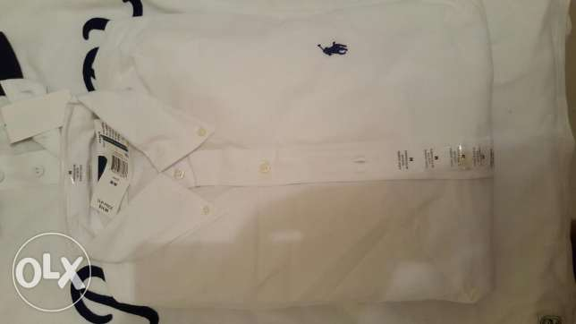 Brand new Ralph lauren shirts قلب الدوحة -  3