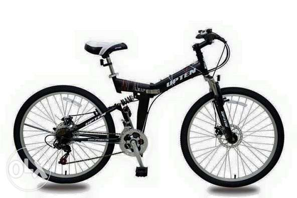 Brand new folding mtb dual suspension & disc brakes Excellent bike