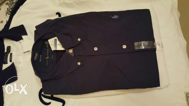Brand new Ralph lauren shirts قلب الدوحة -  5