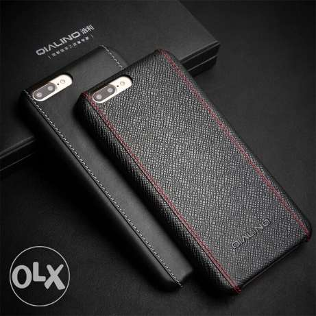 Calf Skin Genuine Leather Luxury Back cover for iphone 7 plus