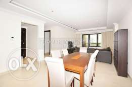 2 Bedroom Fully furnished in Porto Arabia with ecstatic Marina view