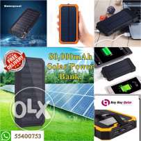 Solar Power Bank 80,000 mAh