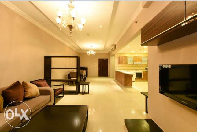fully furnished 1 BHK apartment at Mushairib