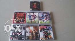 PS3 Game CD's