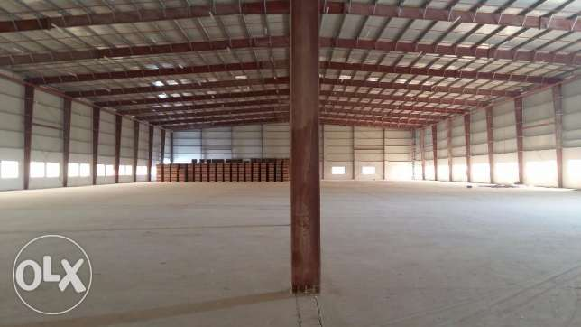 Warehouse for Rent - Doha Industrial Area