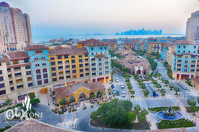 Two Months Free Rent plus Free Qatar Cool Charges, 1BR at The Pearl
