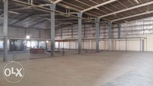 3600 Sqmr Warehouse with 24 Rooms for Rent