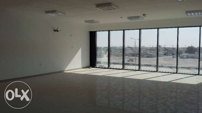 Brand new office space and showroom for rent at Abu Hamour