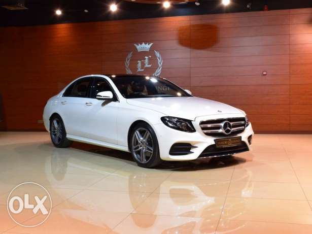 2017 Mercedes Benz E200 EMC , GCC Specs , Under Warranty