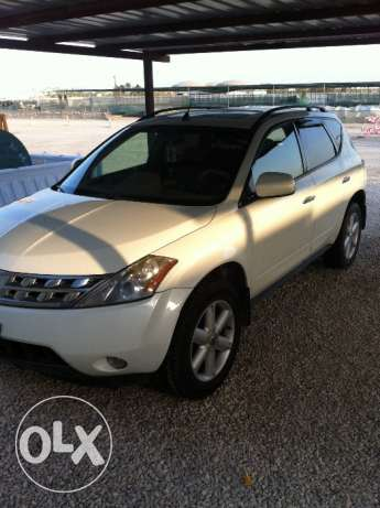 Nissan Murano for sale with very special plate number 58211