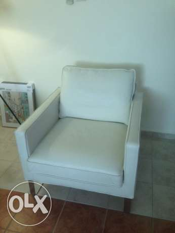 Leather Sofa Chairs (x2) 699/ each