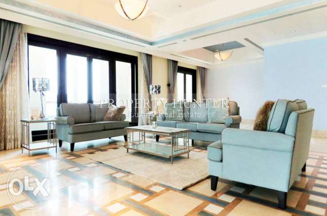 Exceptional 4+Maid Penthouse with Marina View