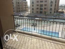 Facing the pool in Lusail city 3 master BD Apartment for rent