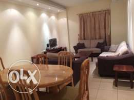 3-Bedroom Fully Furnished Flat At Al Sadd - {Near Lulu Center}