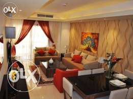FF 3-MASTERROOMS Flat in Bin Mahmoud/ Balcony/Gym/Pool/Spa/Jacuzzi