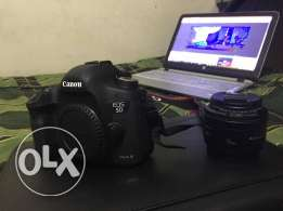 Canon 5D mark III+canon 50mm 1.8 for sell